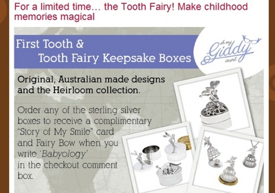 Tooth Keepers in Babyology's Newsletter