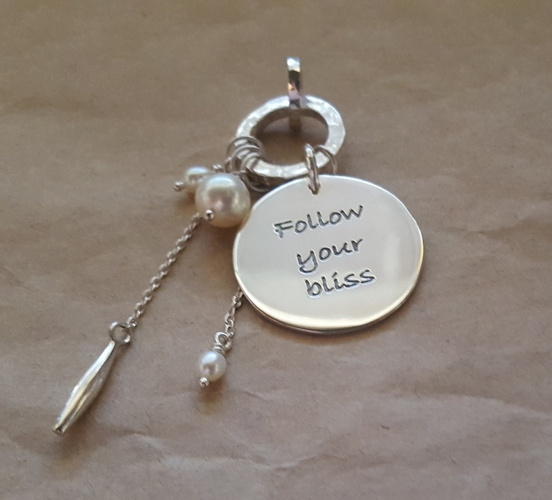 Poetic Pieces Pendant ROUND PEARLS SP4 - Sterling Silver