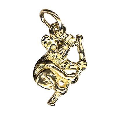 Charm - KOALA - Sterling Silver or 9ct Gold