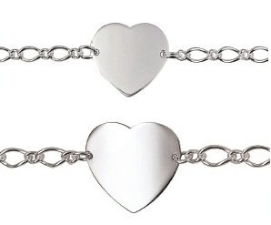 Bracelet - HEART ID - Large and VERY Large