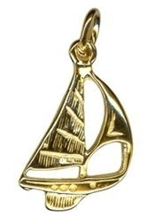 Charm - YACHT - Sterling Silver or 9ct Gold