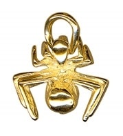 Charm - SPIDER - Sterling Silver or 9ct Gold