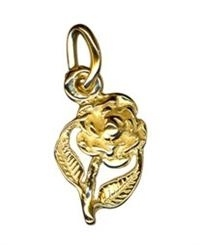 Charm - MEDIUM ROSE - Sterling Silver or 9ct Gold