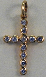 Pendant - FAMILY CROSS - Sterling Silver or Gold