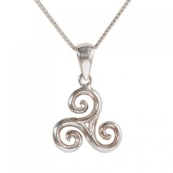 Celtic triskele blue turtles pendant in sterling silver buy online pendant celtic triskele sterling silver aloadofball Image collections