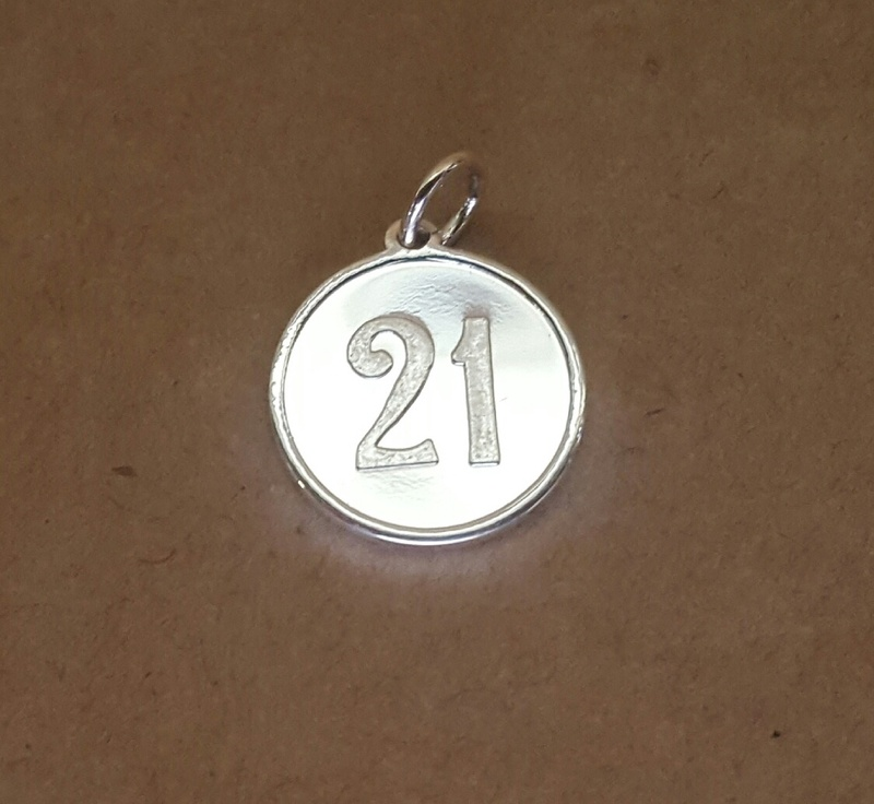 Pendant Charm - 21 DISC - Sterling Silver or 9ct Gold