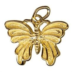 Charm - LARGE BUTTERFLY  - Sterling Silver or 9ct Gold
