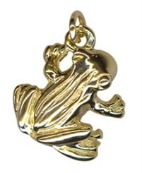 Charm - FROG - Sterling Silver or 9ct Gold