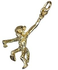 Charm - MONKEY - Sterling Silver or 9ct Gold