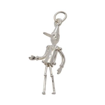 Pendant Moving - PINOCCHIO - Sterling Silver or 9ct Gold