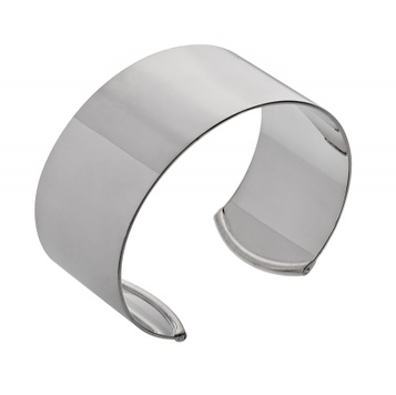 Bangle - CLASSIC CUFF 10mm, 12mm or 30mm - Sterling Silver or 9ct Gold