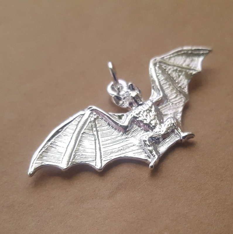 Pendant  - BAT - Sterling Silver or Gold