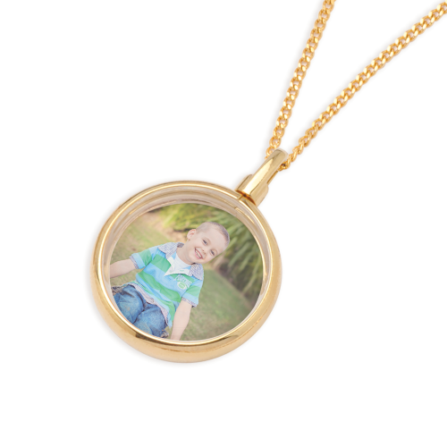 Locket - PHOTOFRAME - Sterling Silver or 9ct Gold