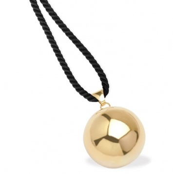 Solid 9ct gold harmony bola or chime ball in yellow or rose gold harmony ball solid 9ct gold aloadofball Image collections