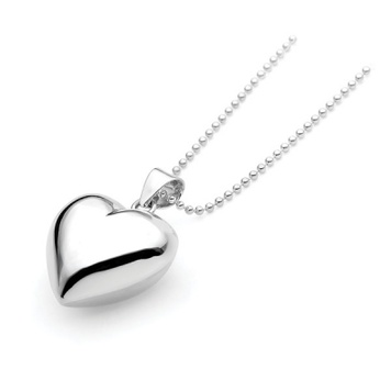 Harmony Ball - PUFFED HEART - Bella Donna Sterling Silver