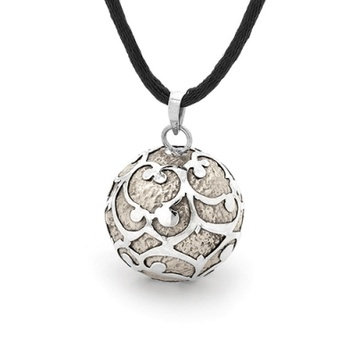 Harmony Ball - ANTIQUE LACE - Bella Donna Sterling Silver & Bronze