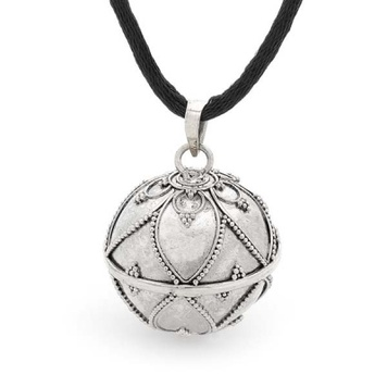 Bella donna silver harmony ball pendant in lantern design online harmony ball lantern bella donna sterling silver aloadofball Images