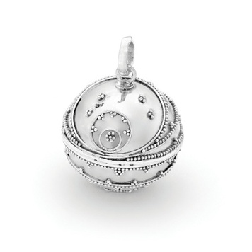 Harmony Ball - COSMIC - Bella Donna Sterling Silver