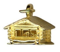 Charms - HOME SWEET HOME - Sterling Silver or 9ct Gold