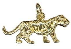 Charm - TIGER - Sterling Silver or 9ct Gold