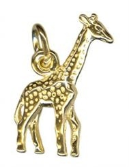 Charm - GIRAFFE - Sterling Silver or 9ct Gold