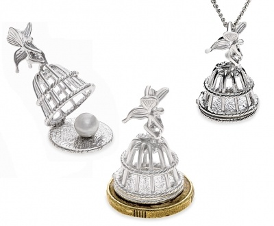 Box or Pendant - FAIRY KEEPER - Sterling Silver