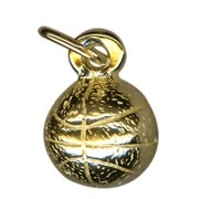 Charm - BASKETBALL - Sterling Silver or 9ct Gold