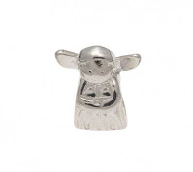 Slider Charm - ANGEL - Sterling Silver or 9ct Gold