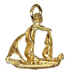 Charm - SHIP - Sterling Silver or 9ct Gold