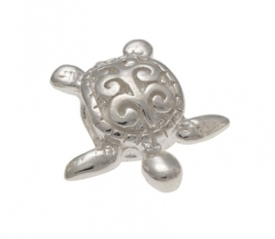 Slider Charm - TURTLE - Sterling Silver or 9ct Gold