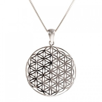 Pendant - FLOWER OF LIFE - Sterling Silver