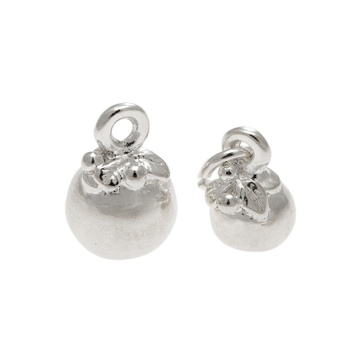 Charm - PUDDING - Sterling Silver or 9ct Gold