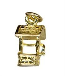 Charm - WISHING WELL - Sterling Silver or 9ct Gold