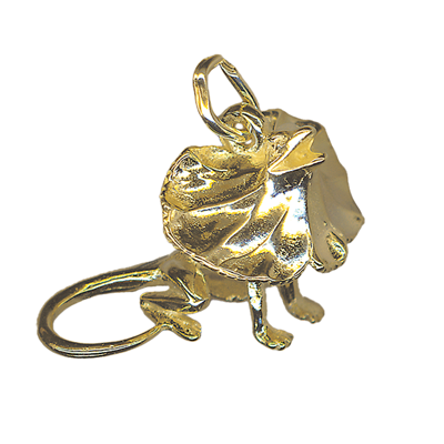 Charm - BIG FILLY LIZARD - Sterling Silver or 9ct Gold