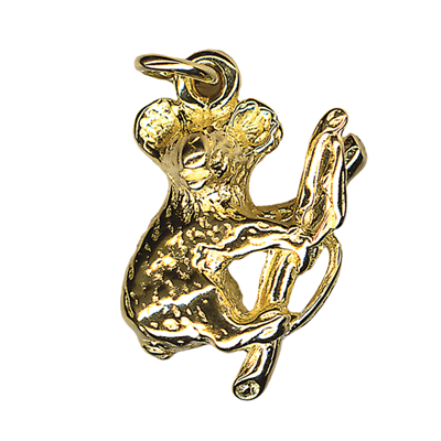 Charm - KOALA IN TREE - Sterling Silver or 9ct Gold