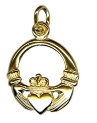 Charm - CLADDAGH - Sterling Silver or 9ct Gold
