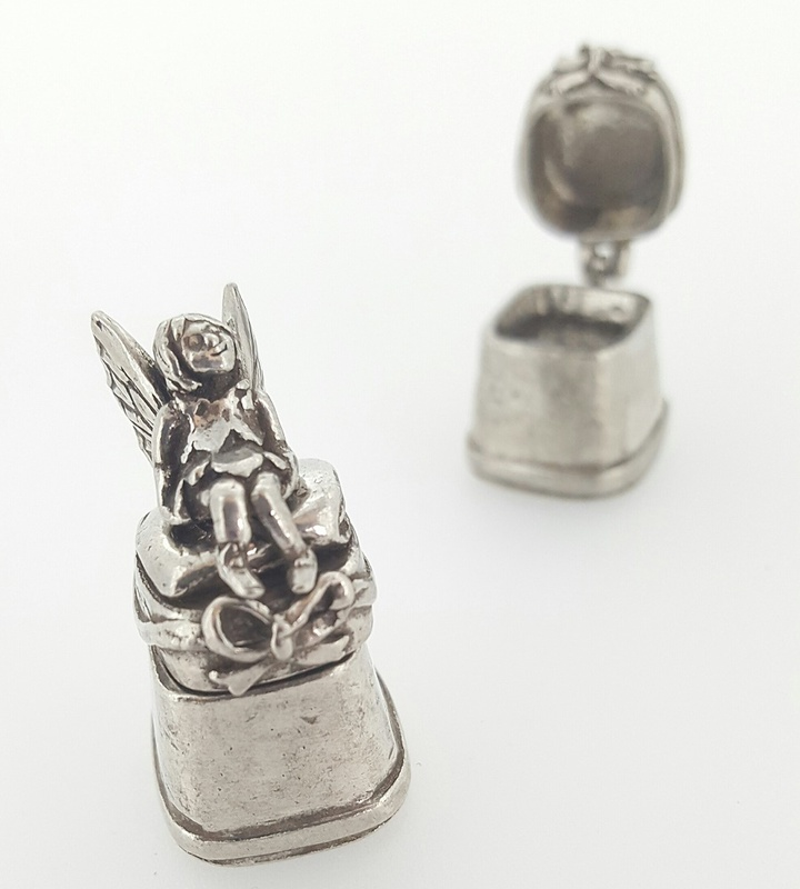 Thimble - TOOTH FAIRY - Opening - Pewter
