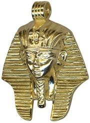 Charm - LARGE TUTANKHAMEN - Sterling Silver or 9ct Gold