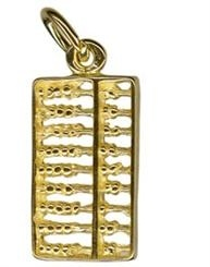 Charm - ABACUS - Sterling Silver or 9ct Gold