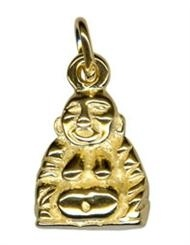 Charm - BUDDHA - Sterling Silver or 9ct Gold