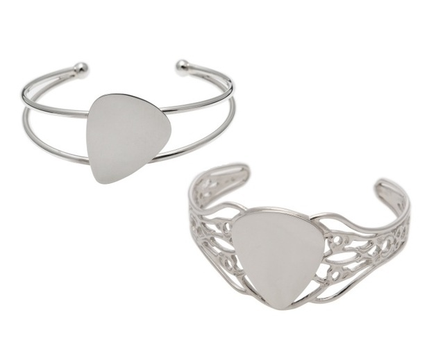 Cuff - GUITAR PICK - Sterling Silver