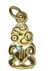 Charm - TIKI - Sterling Silver or 9ct Gold