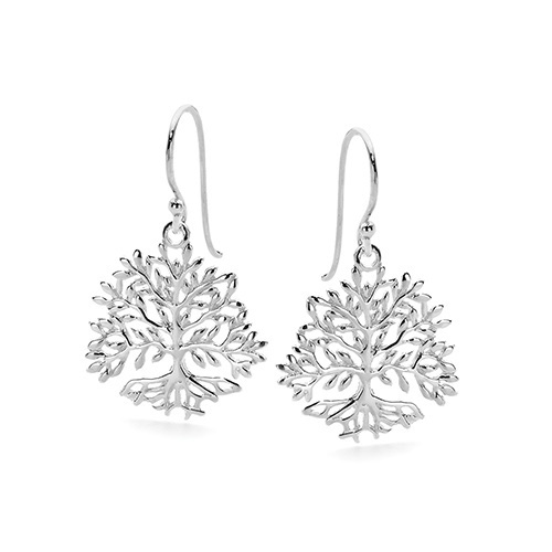 Earrings - TREE OF LIFE - Sterling Silver
