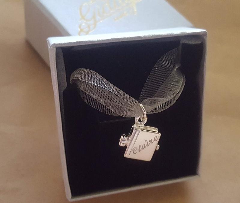 Engraved Book Locket Australia Personalised Jewellery