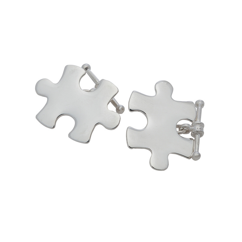 Cufflinks - PUZZLE LINKS - Sterling Silver or 9ct Gold