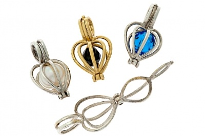 Locket - TREASURE KEEPER HEART - Sterling Silver or Gold