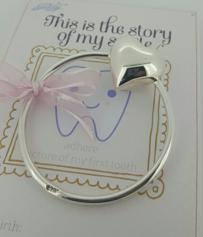Sterling Silver Baby Rattle Chime Heart Personalised Buy