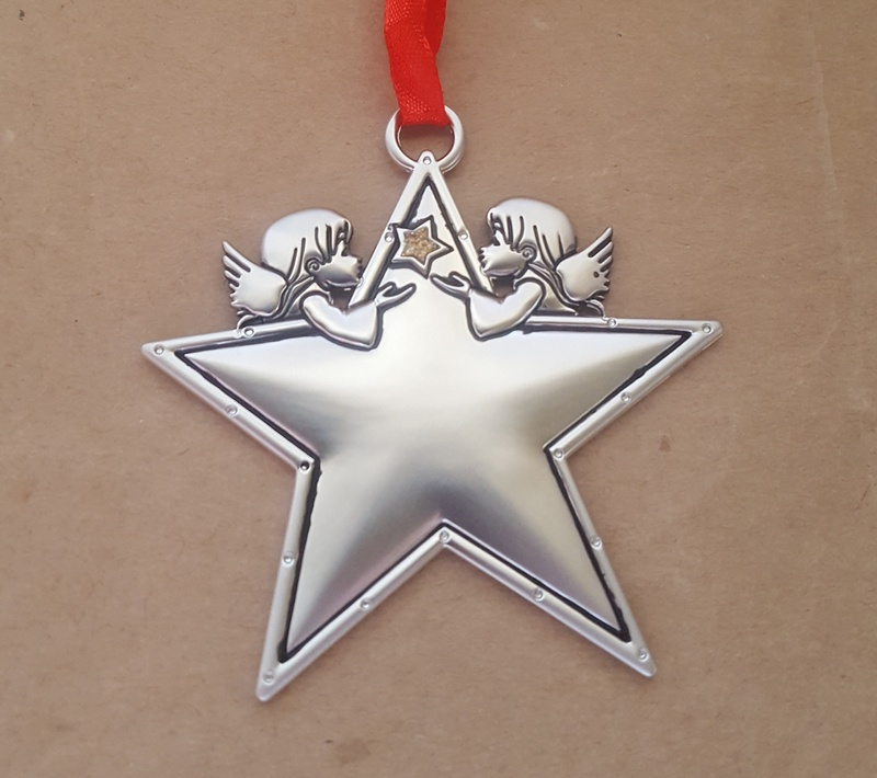 Christmas Ornament - ANGELS STAR - Personalised