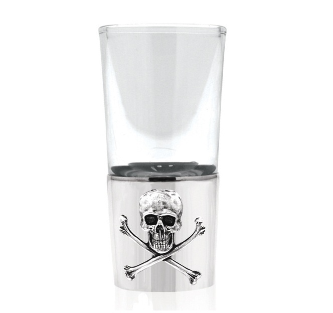 Shot Glass - POISON - Pewter