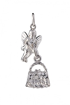 Fairy Helper - The FORGET-THE-WASHING-LET'S-GO-SHOPPING Fairy - Sterling Silver